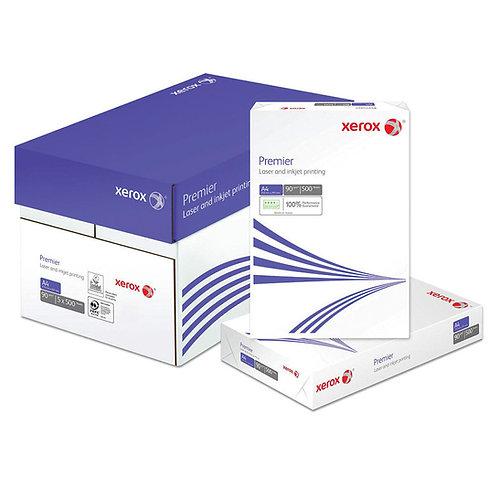 A4 Xerox Premier 90g printer & copier paper (Box 2500shts)