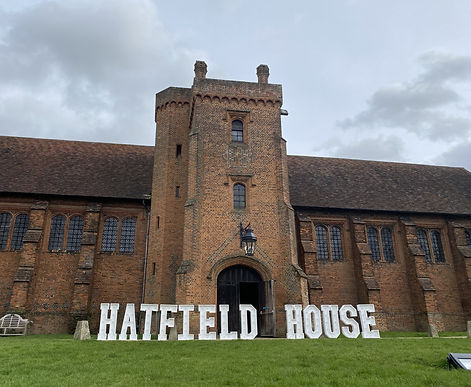 Hatfield House LED letters