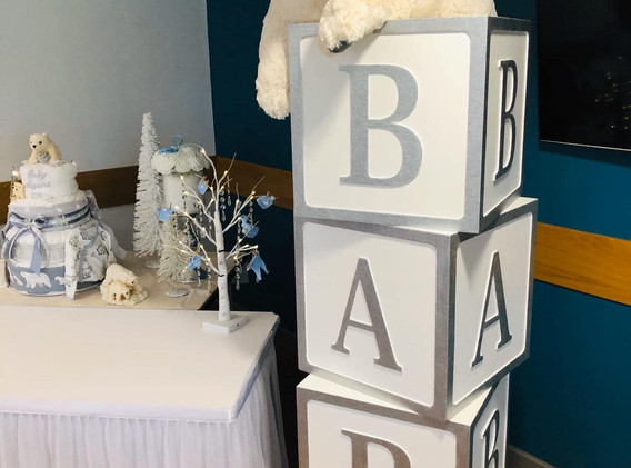Glitter Baby Boxes