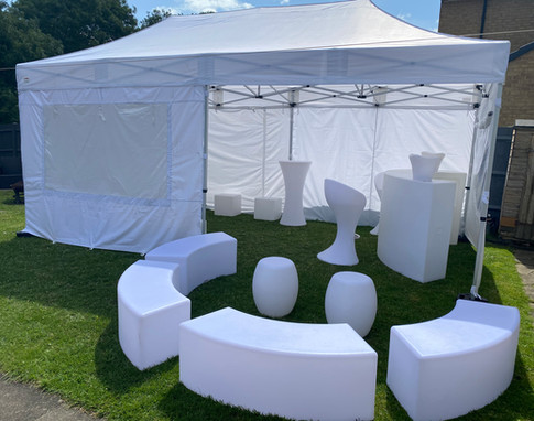 LED Furniture Garden Party