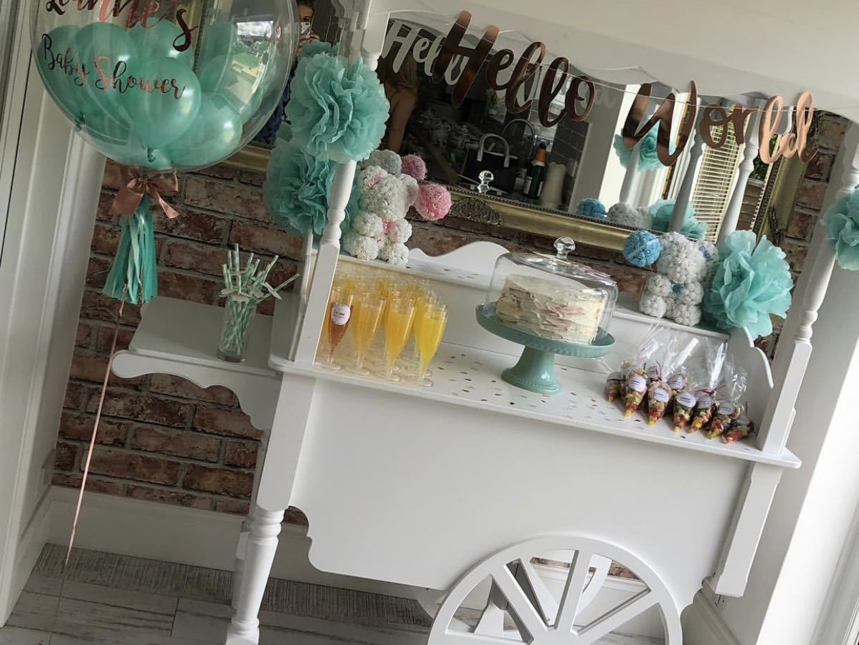 Sweet Cart Baby Shower Hire
