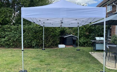 Garden Marquee Hire 3x4.5m