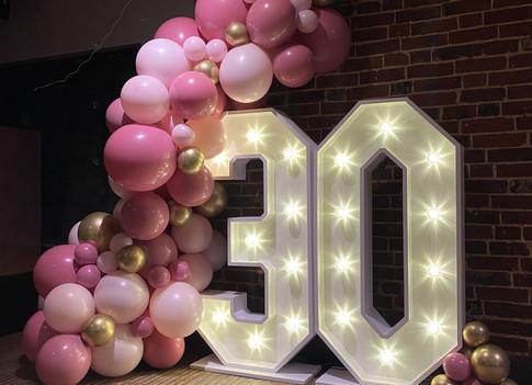 LED light up 30