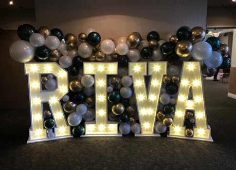 4ft LED light up letters