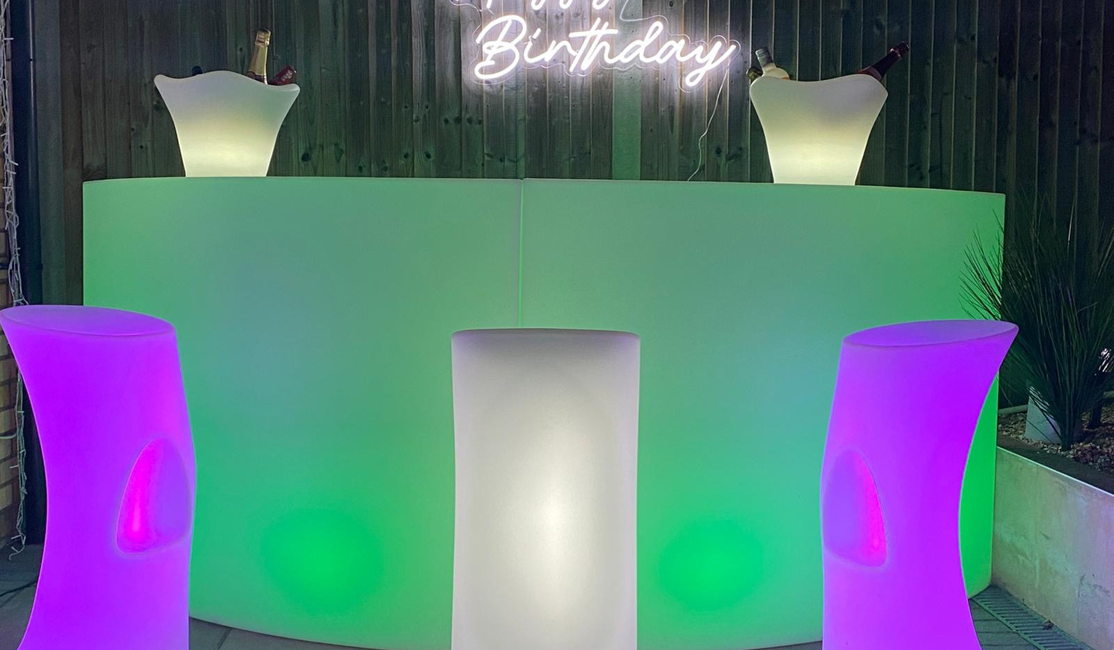 LED Garden Furniture
