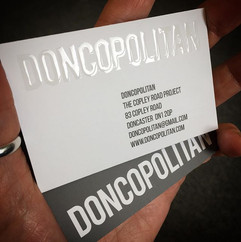 Delivered some tidy new business cards f