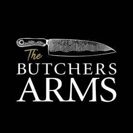 The Butchers Arms SMALL LOGO_ON BLACK.pn