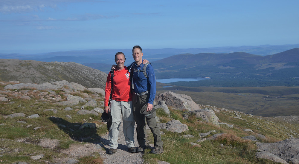 Cairn Gorm hike via the Northern Corries is known for dramatic cliff scenery and amazing views