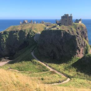 Castle Hunting the East Coast of Scotland: Aug 26-27, 2019