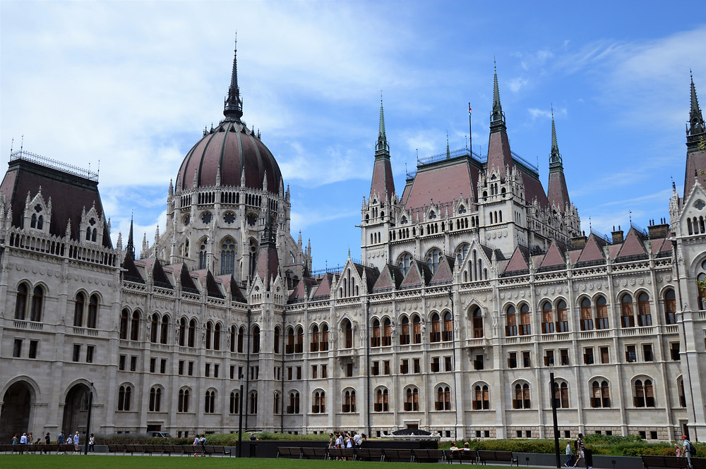 The Hungarian Parliament Building is the largest building in Budapest and the third largest parliament building in the world.