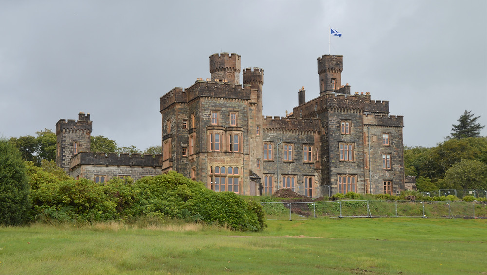 Lews Castle built in 1840s on Lewis and Harris in the Outer Hebrides