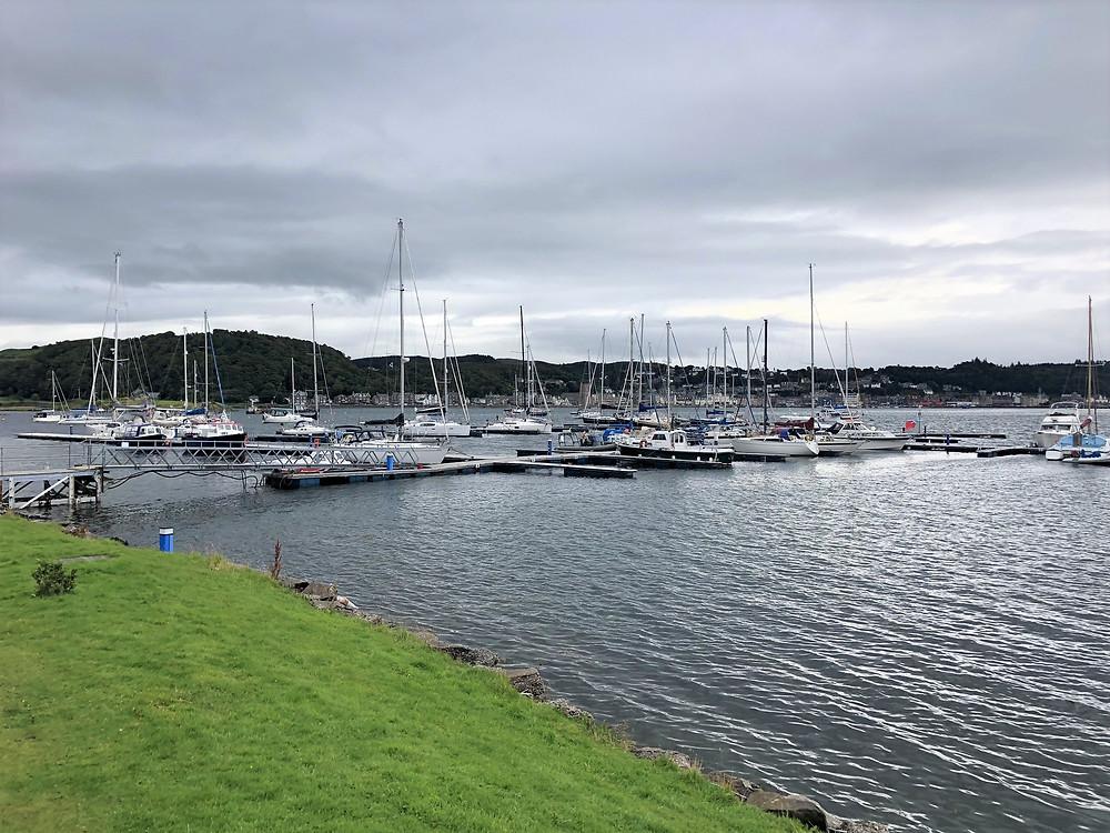Ardantrive Bay on the Isle of Kerrera in Scotland