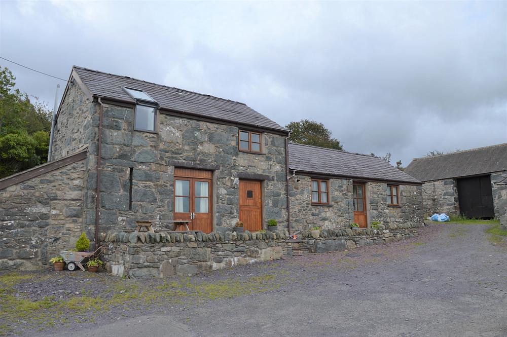Farmhouse Airbnb in Tregarth Wales