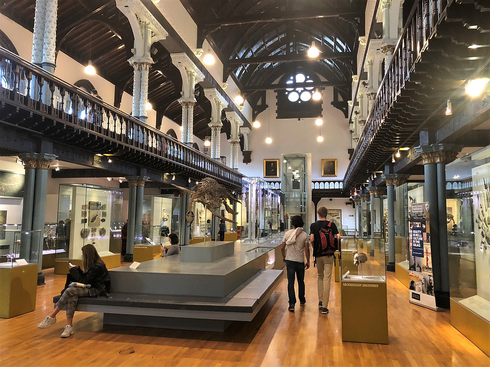 Hunterian Museum on the campus of the University of Glasgow