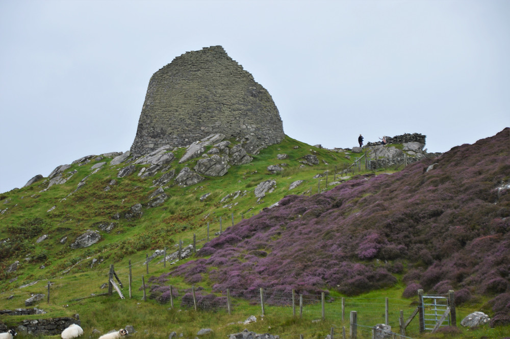Dun Carloway Broch on Lewis and Harris in the Outer Hebrides