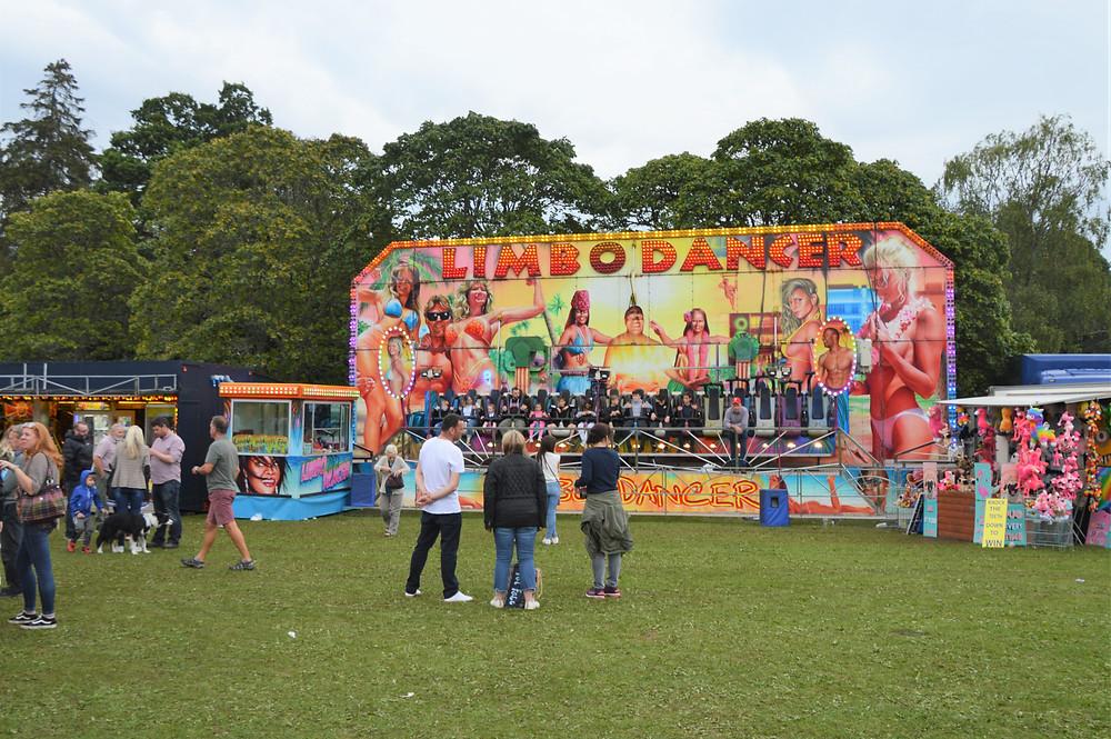 'Glenurquhart Highlands Games that were taking place today in Drumnadrochit in Scotland