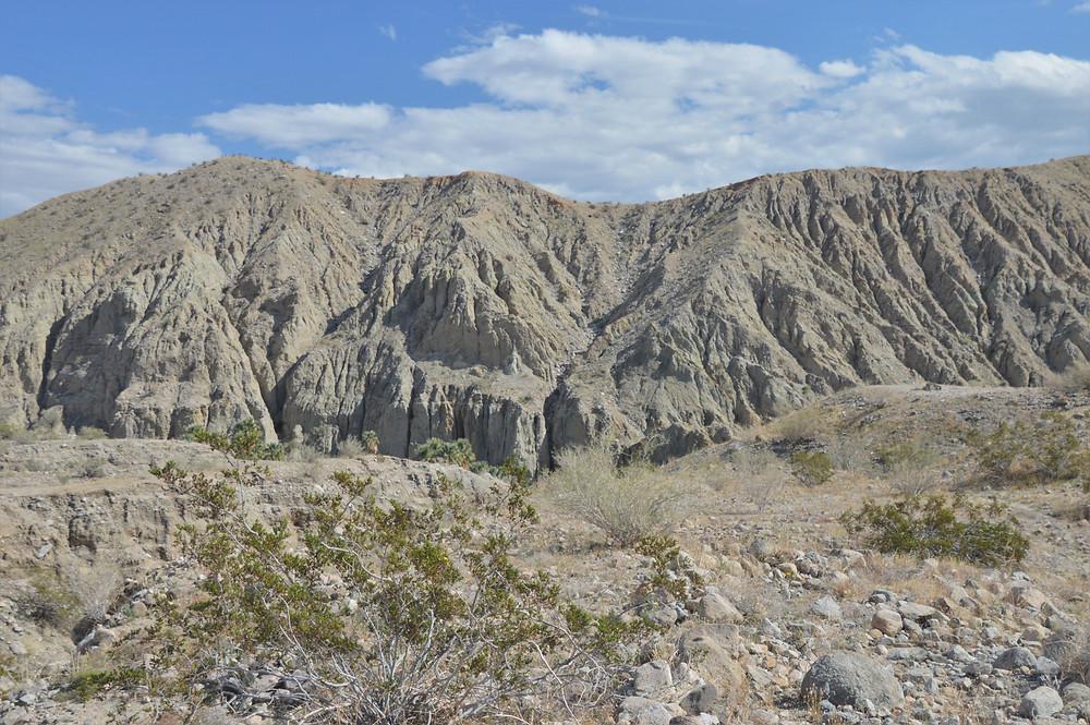 Pushwalla Canyon walls