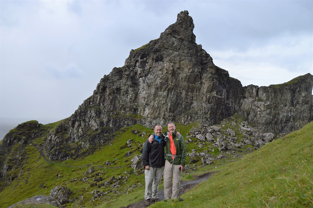 Hiking Quiraing on the Isle of Skye