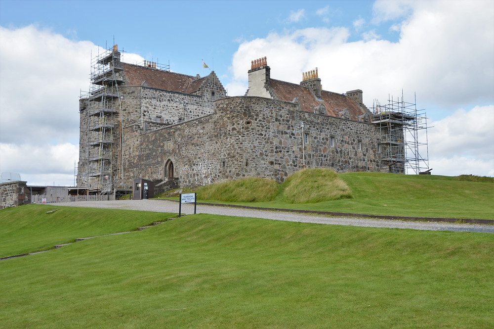 Duart Castle on the ancestral home of one of Scotland's oldest clans, the MacLeans