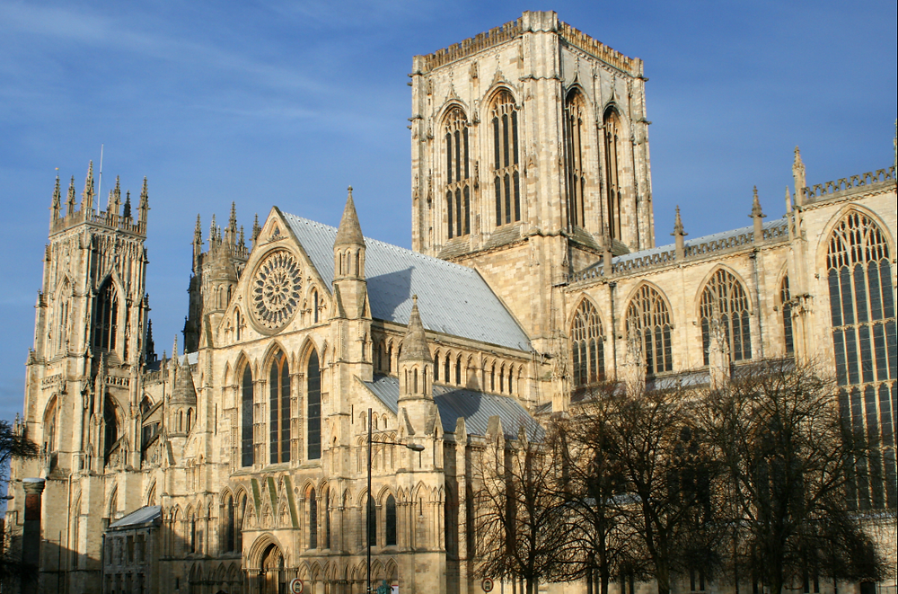 The Central Tower, also known as the Lantern Tower in York Minster