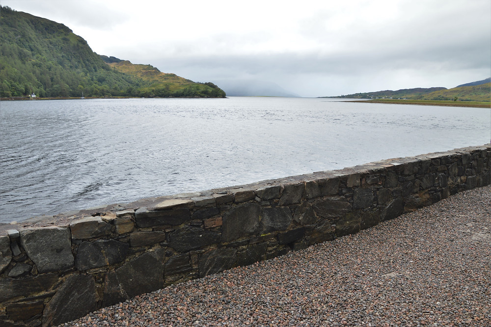 A sea gate provided unobstructed views of Loch Alsh and showcased the strategic nature of the Eilean Donan Castle on the Isle of Skye