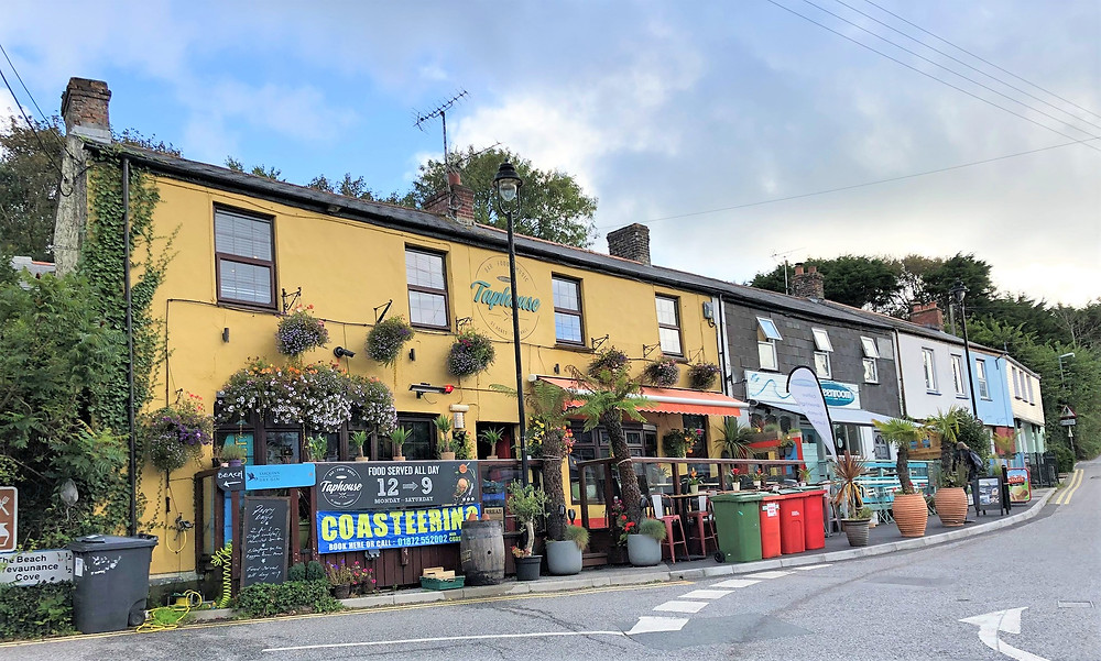 The Taphouse restaurant and pub in St Agnes, England