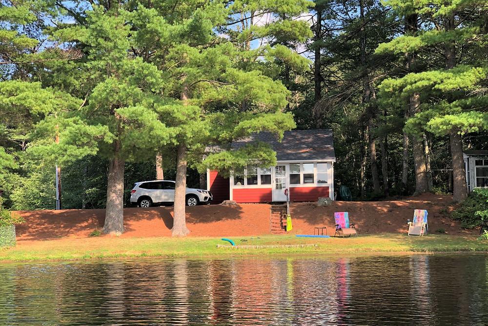 Camp on Snake Pond in Gardner, MA