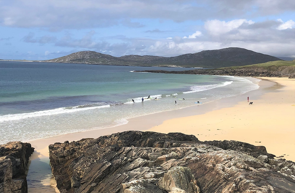 Spectacular Scarista Beach on Lewis and Harris in the Outer Hebrides