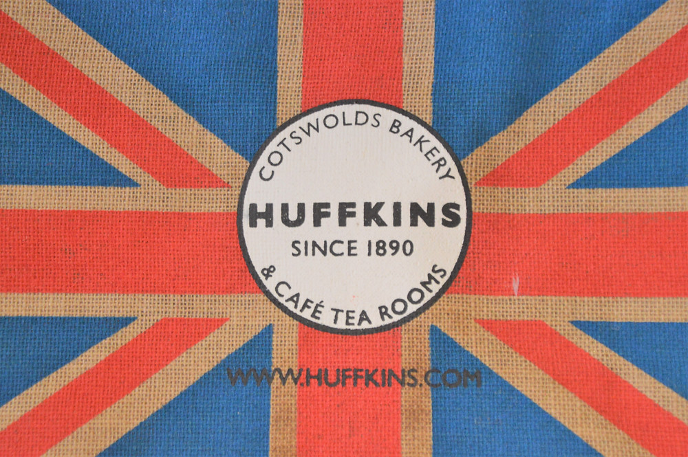 Huffkins pastry logo in Burford of the Cotswolds
