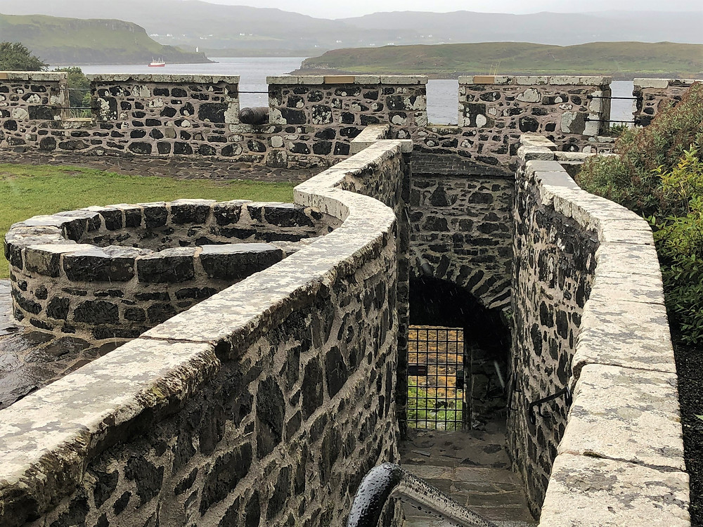 Some of the stone walls of Dunvegan Castle have stood since the 1200