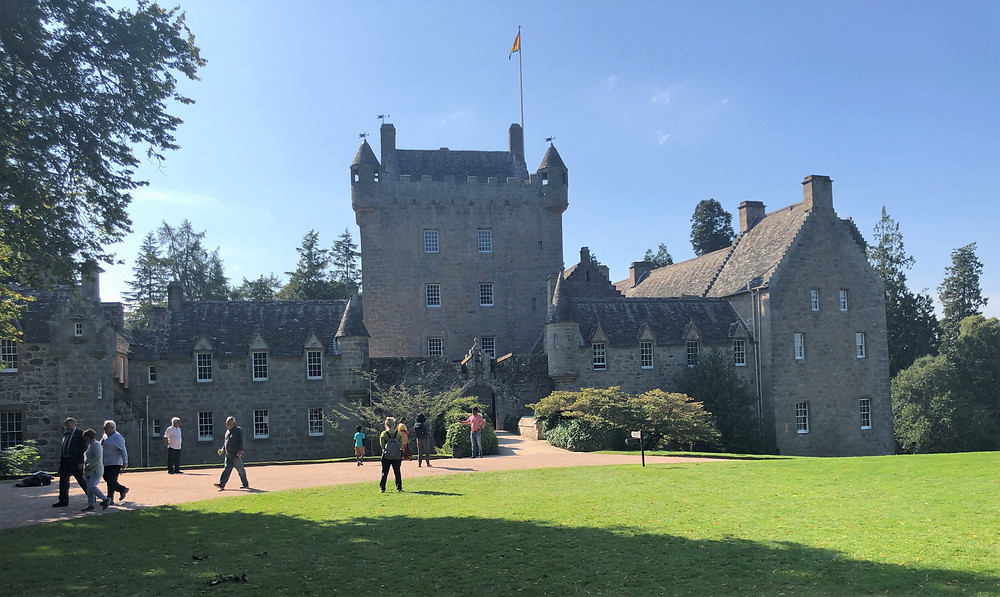 The main focus of the Cawdor Castle is the four story 15th-century tower.