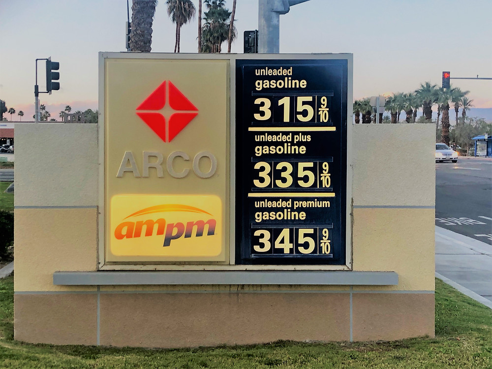 High gas prices in Sothern California