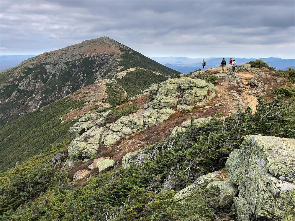 Mt Lafayette from Franconia Ridge Loop Trail