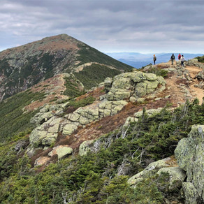 Hike Mt Lafayette, Mt Lincoln and Little Haystack Mt, NH: Oct 2020
