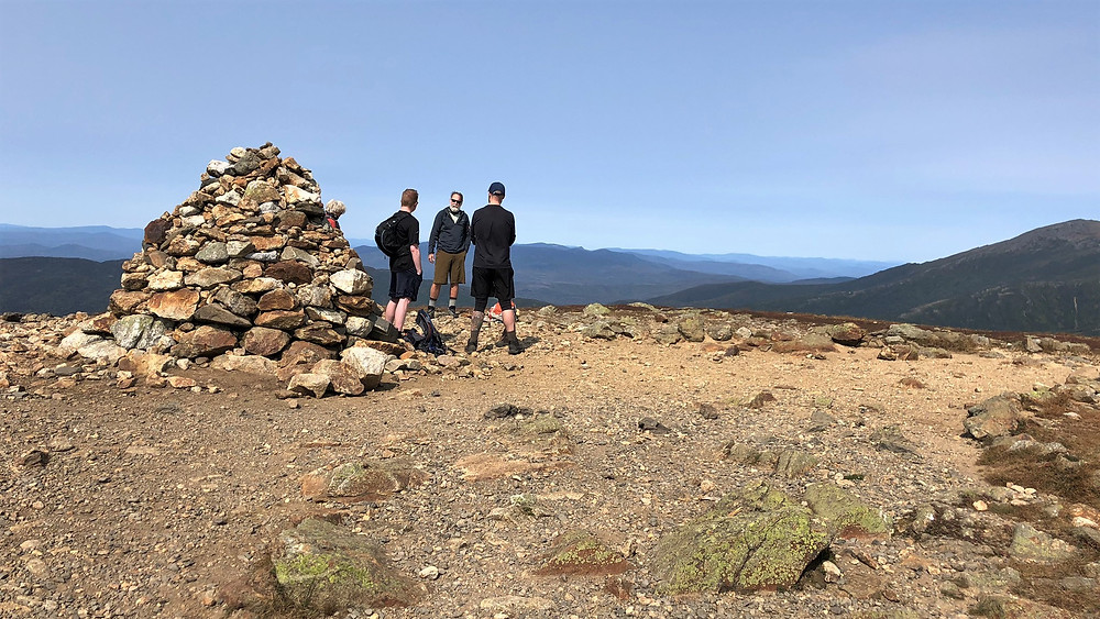 Summit of Mt Eisenhower in the Presidential Mountain Range. 4000 footer