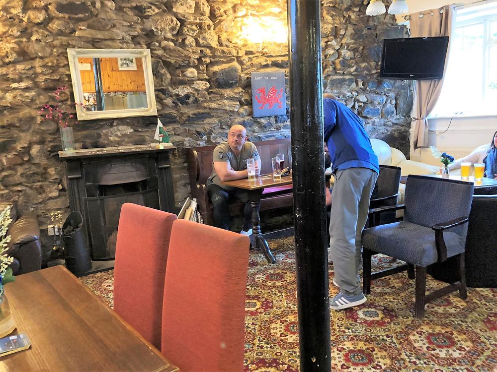 Pant Yr Ardd Pub in Tegarth Wales