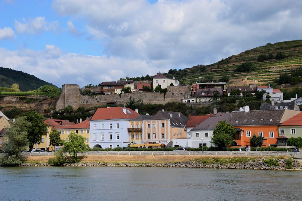 Cruising the Danube River through the Wachau Valley in Austria
