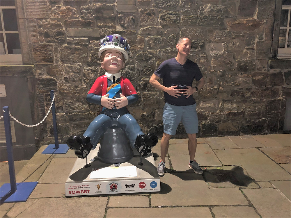 Oor Wullis Statues located throughout Scotland.