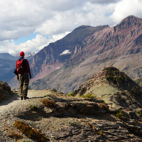 Day 1-2: Hike Scenic Point & Bowman Lake - Glacier National Park, MT