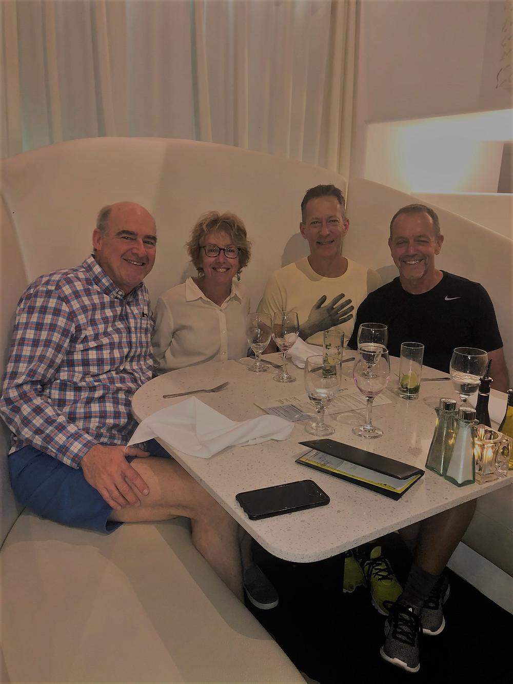 Dinner at Lulu California Bistro in Palm Springs