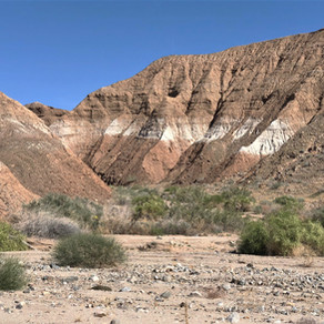 Hike Mecca Hills: Mar 2020