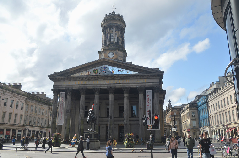 Exterior of the Museum of Modern Art in Glasgow