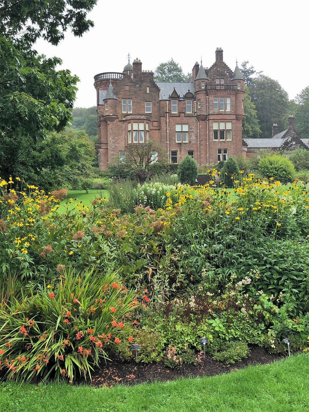 Threave Estate and Gardens in Dumfries and Galloway Southern Scotland