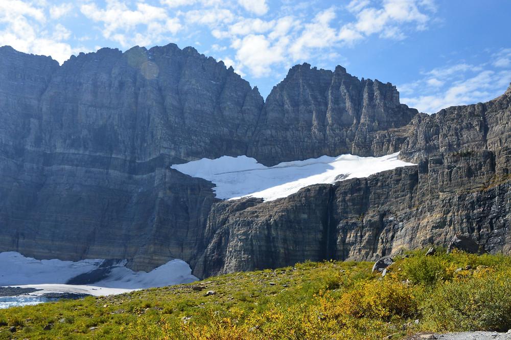 Grinnell Glacier Hike glacier national park, salamander glacier
