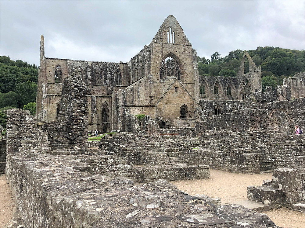 Tintern Abby in Southern Wales was founded in 1131.  Most the ruins date to the 1260-1301