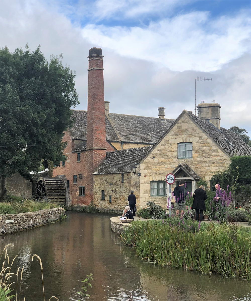 19th century flour mill located along the River Eye in Lower Slaughter of the Cotswolds
