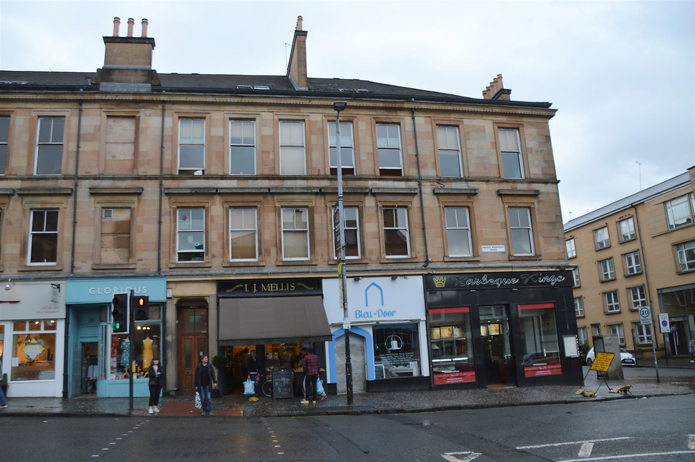 Glasgow West End shops