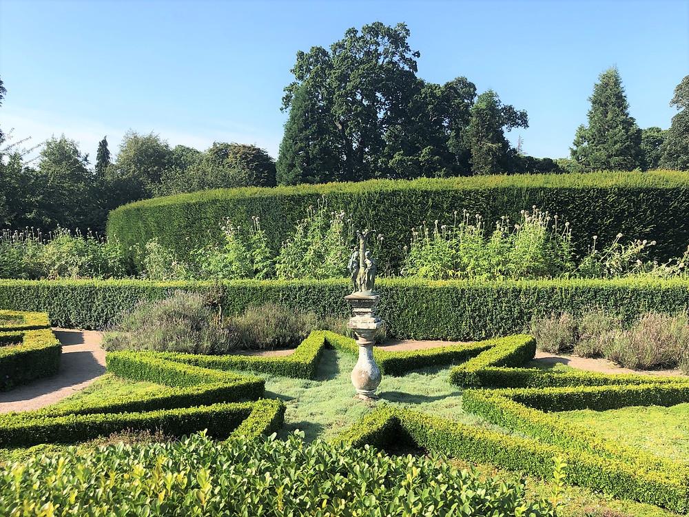 Beautiful gardens on the Cawdor Castle grounds