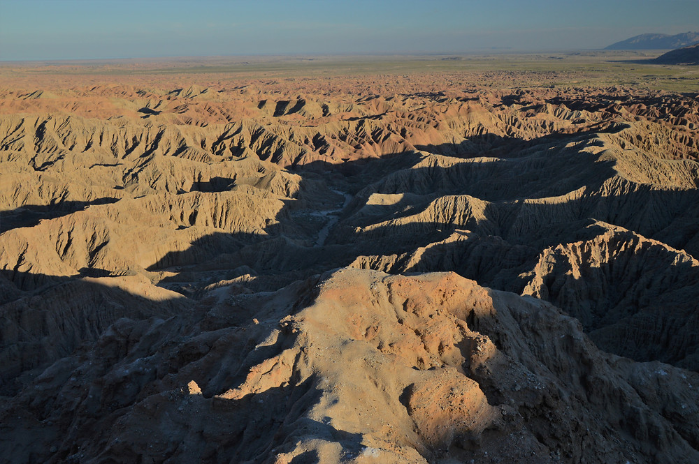 Font's Point at Anza Borrego has some of the best view of the Borrego Badlands
