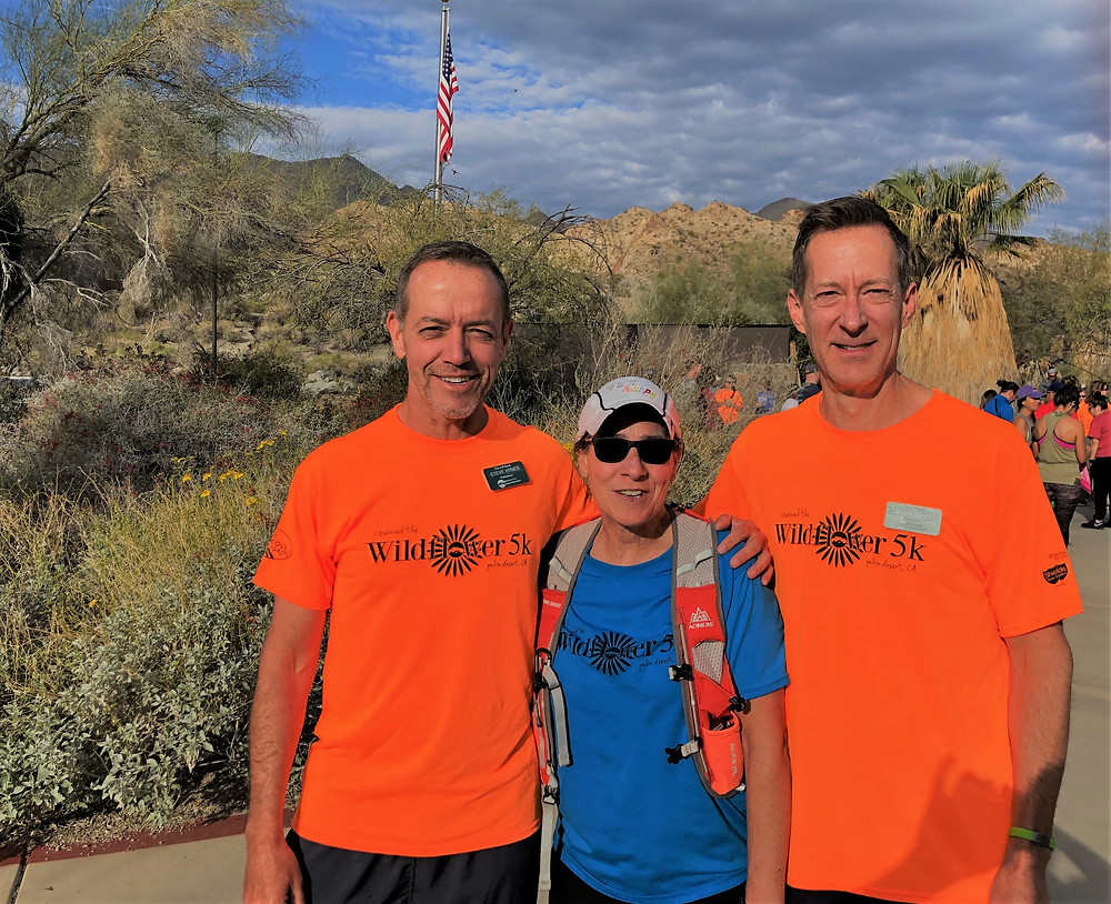 Organizers of the Friends of the Desert Mountains 5K Trail Run held at the Santa Rosa and San Jacinto Mountains National Monument